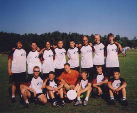 Команда Latvia натурнире WJUC 2002 (U20 Open, 6/7)
