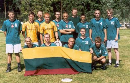 Команда Lithuania натурнире WJUC 2002 (U20 Open, 7/7)