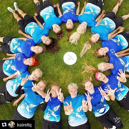Команда Estonia Women натурнире EUC 2015 (ЖД, 17/19)