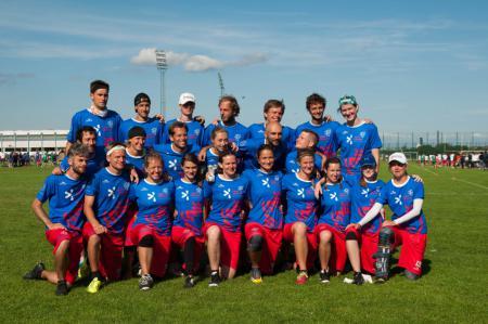 Команда Czech Republic Mixed натурнире EUC 2015 (Микс дивизион, 4/18)