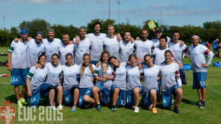 Команда Italy Mixed натурнире EUC 2015 (Микс дивизион, 13/18)