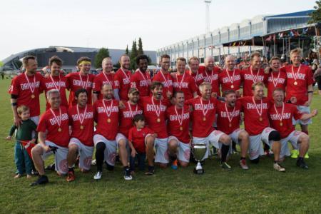 Команда Denmark Open Masters натурнире EUC 2015 (OM, 1/7)