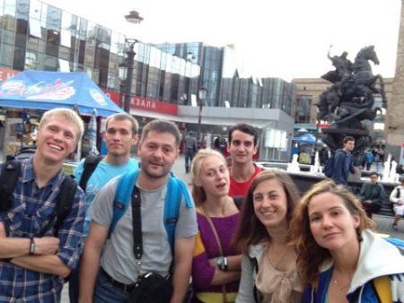 Команда Скай-про натурнире 3 этап МЧР 2015 (Микс дивизион, 6/7)