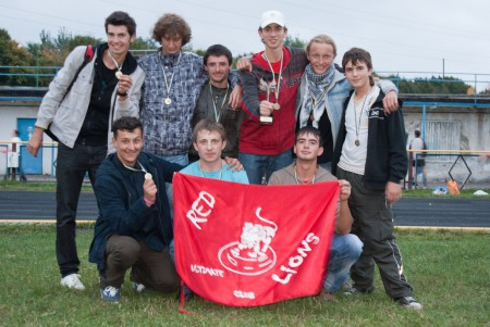 Команда Red Lions натурнире ОЧУ 2010 (ОД, 7/15)