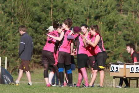 Команда Bubblicious натурнире ZARAZA 2011 (Микс дивизион, 5/6)