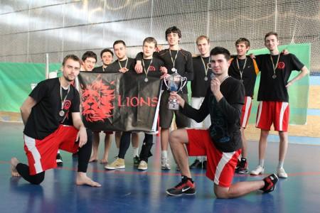 Команда Red Lions натурнире ЗЧУ 2012 (ОД, 2/16)