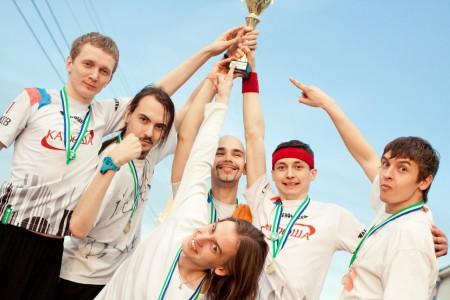 Команда Катюша натурнире Spring Cup 2012 (ОД, 1/10)