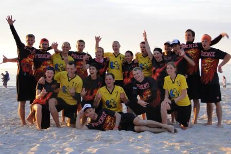 Команда Marių Meškos натурнире SandSlash 2015 (Микс дивизион, 12/30)