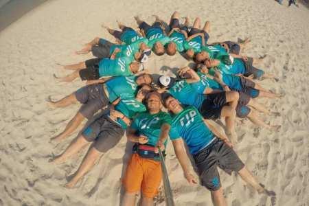 Команда RJP натурнире SandSlash 2015 (Микс дивизион, 25/30)