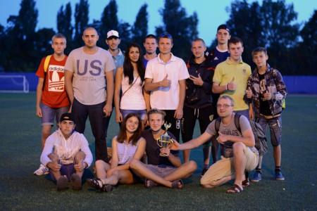 Команда Старт натурнире ОЛЧ 2015 — финал (ОД, 3/5)