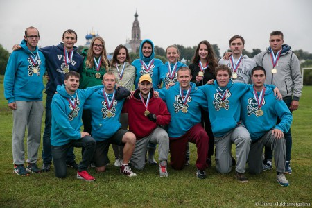Команда Мыши натурнире ОЧР 2015 (Микс дивизион, 4/7)