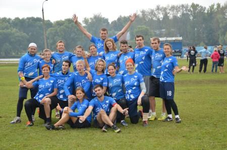 Команда Скай Про натурнире ОЧР 2015 (Микс дивизион, 6/7)
