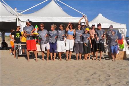 Команда Bivni натурнире BurlaBeachCup 2013 (Микс дивизион, 1/18)