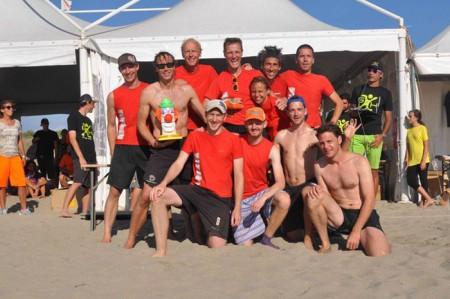 Команда Zoccoli Misti натурнире BurlaBeachCup 2013 (ОД, 2/15)