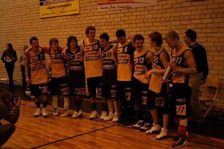 Команда Vorai натурнире UltiFreeze 2009 (ОД, 1/14)