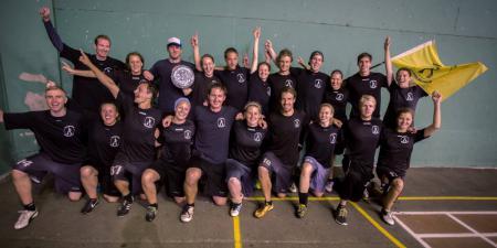 Команда Disc-o-Fever натурнире XEUCF 2013 (Микс дивизион, 9/16)