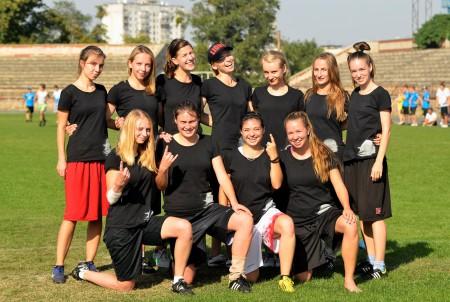 Команда Flames натурнире ОЧУ 2015 (ЖД, 3/4)