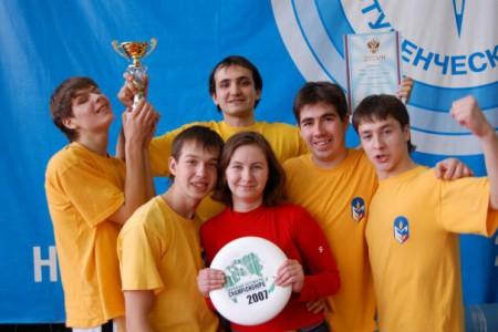 Команда МарГТУ натурнире Летящий SpiNN 2008 (ОД, 3/8)