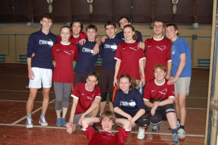 Команда ПущГУ натурнире Летящий SpiNN 2008 (ОД, 7/8)