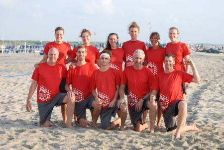 Команда FREEZZZ BEEZZZ на турнире BurlaBeachCup 2012 (MIXED, 6/22)