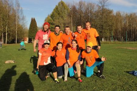 Команда Днище натурнире Yaroslavl Hat' Autumn 2015 (Микс дивизион, 9/10)
