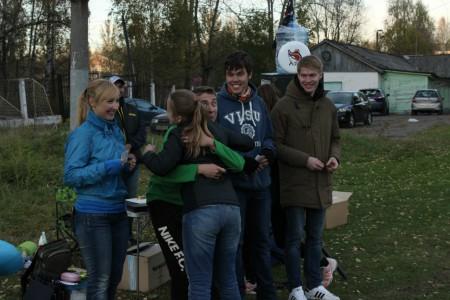 Команда На абордаж натурнире Yaroslavl Hat' Autumn 2015 (Микс дивизион, 4/10)
