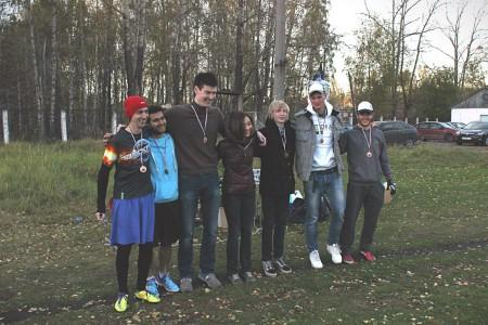 Команда Черная Жемчужина натурнире Yaroslavl Hat' Autumn 2015 (Микс дивизион, 3/10)