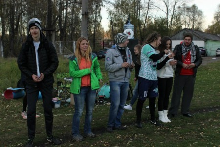 Команда Шторм в трюме натурнире Yaroslavl Hat' Autumn 2015 (Микс дивизион, 7/10)