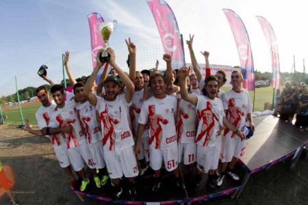Команда CUSB La Fotta натурнире EUCF 2015 (Open, 2/24)