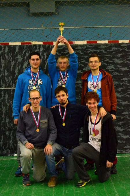 Команда MICE натурнире II Кубок Владимира 2015 (ОД, 4/8)