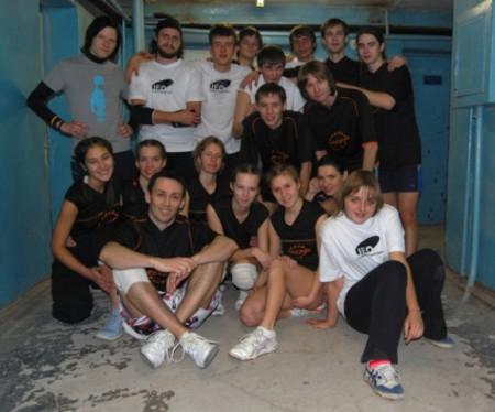 Команда Фреза натурнире Точка Отсчета 2009 (ОД, 3/11)
