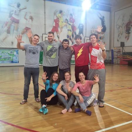Команда ПандаБанда натурнире Миксомания 2015 (Микс дивизион, 5/14)