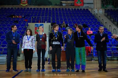 Команда Фреш натурнире Миксомания 2015 (Микс дивизион, 3/14)