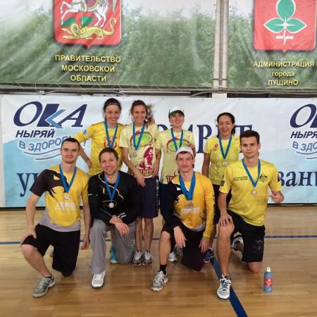 Команда СОБР натурнире Миксомания 2015 (Микс дивизион, 2/14)