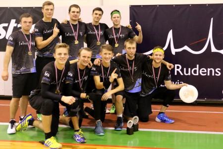 Команда Salaspils Wild Things натурнире Rigas Rudens 2015 (ОД, 1/20)