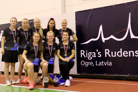 Команда Salaspils FK натурнире Rigas Rudens 2015 (ЖД, 2/11)