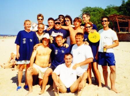 Команда Мелтдаун натурнире Jurmalas Bite 1999 (ОД, ?/2)