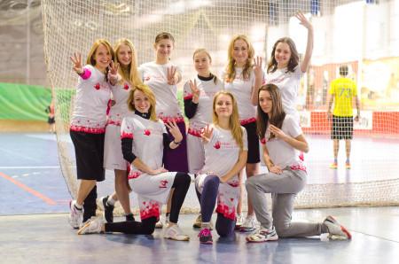 Команда High Five натурнире Lubart Ultimate Cup 2015 (ЖД, 3/6)