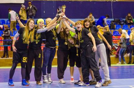 Команда Дикі Кралі натурнире Lubart Ultimate Cup 2015 (ЖД, 1/6)