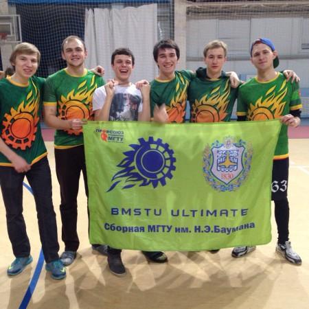Команда МГТУ-бета натурнире BEST 2015 (ОД, 6/9)