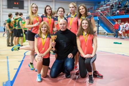 Команда СпбГИК натурнире BEST 2015 (ЖД, 1/6)