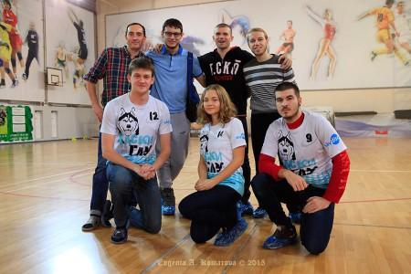 Команда Хаски ГЛУ натурнире ЗаПуск 2015 (ОД-2, 13/15)