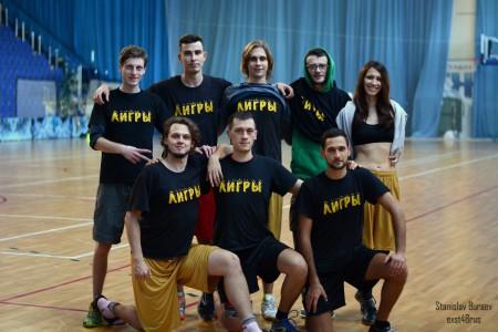 Команда Лигры натурнире ЗаПуск 2015 (ОД-2, 6/15)