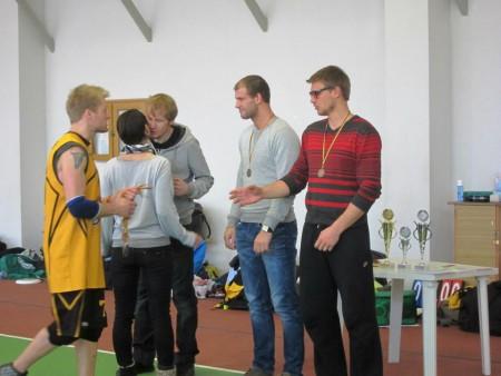 Команда BS натурнире LUC indoor 2012 (ОД, 3/10)