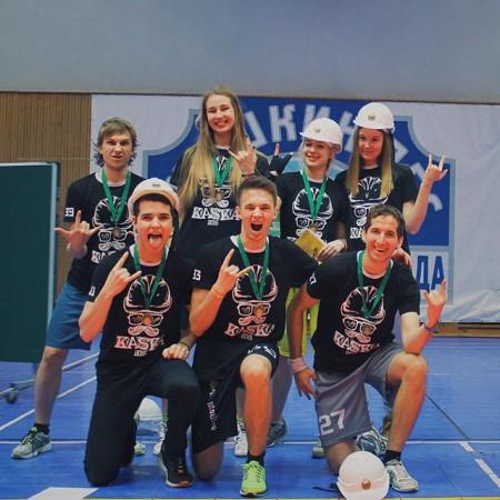 Команда Metallica натурнире КАСКА 2015 (Микс дивизион, 3/16)