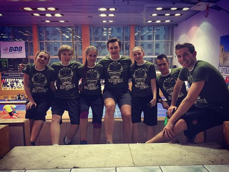 Команда ТерминаторЫ натурнире КАСКА 2015 (Микс дивизион, 10/16)