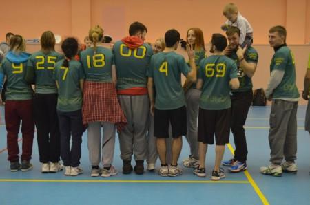 Команда BioZONe натурнире ЯрМикст 2015 (Микс дивизион, 3/11)