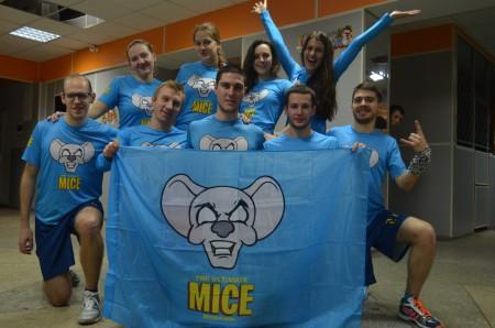 Команда MICE натурнире ЯрМикст 2015 (Микс дивизион, 8/11)