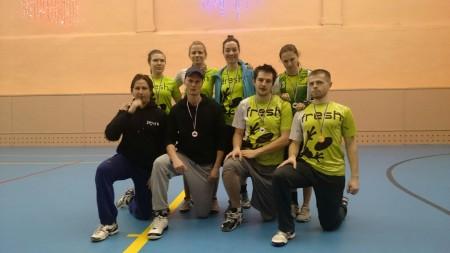 Команда Fresh натурнире ЯрМикст 2015 (Микс дивизион, 1/11)