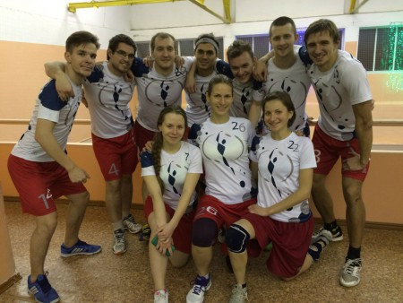 Команда Фря-crew натурнире ЯрМикст 2015 (Микс дивизион, 4/11)